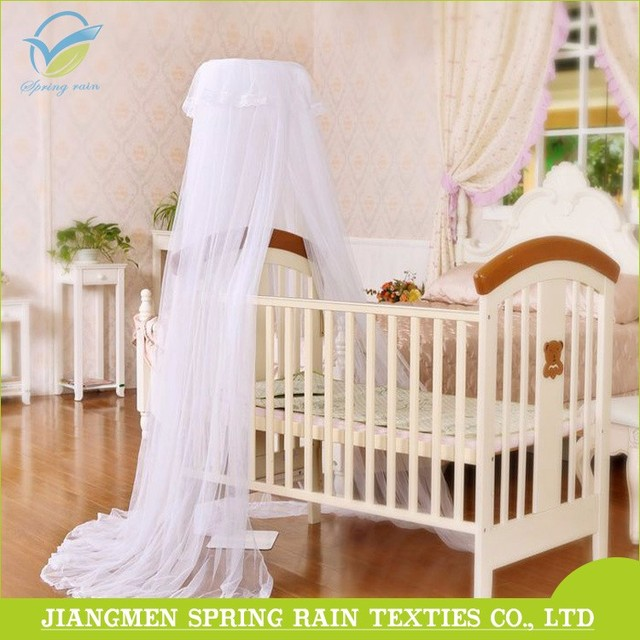 100% Polyester Mesh Portable Baby Bed Mosquito Net For Toddler Crib Cot Canopy : cot canopy net - memphite.com