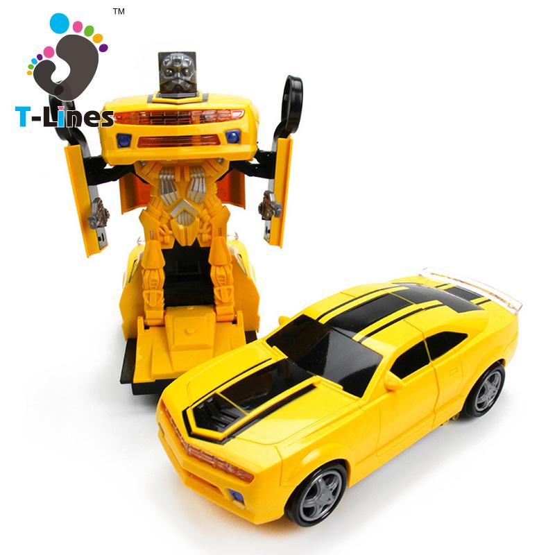 Deformed toy transform car robot for child