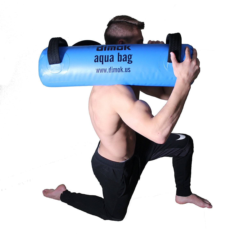 03e70524e3a9 dimok Sandbag Alternative Aqua Bag Training Weight Bag - Adjustable Weights  Portable Full Body Workout -