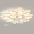 new design aluminum acrylic art decoration led ceiling lights modern for home can dimmer No RF interference Warranty 5 years