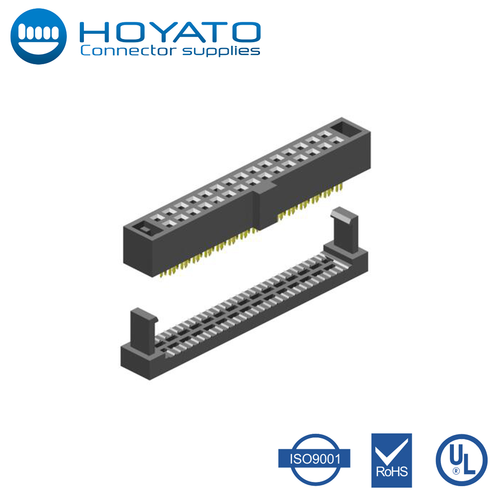 Pitch 1.27mm Female Krone IDC Connectors 6,8,10,12,14,16,20,22,24,26,30,24,36,40,44,50,60,64,68,80 Pin IDC