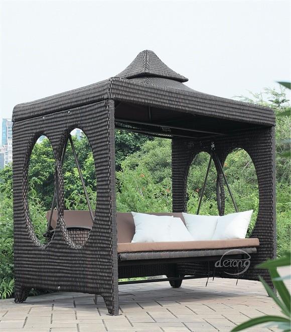 gartenmöbel außen beliebten rattan möbel luxus pe rattan/korb, Garten und Bauten