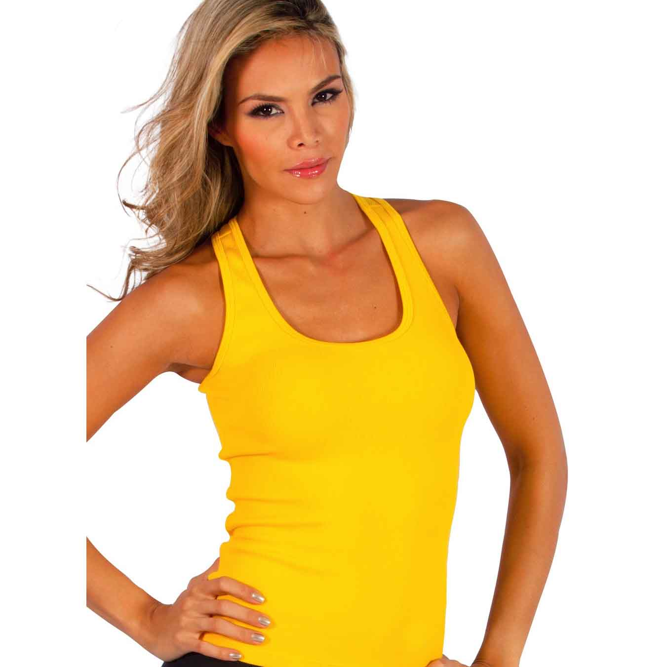 Related: yellow tank top xl yellow crop top yellow camisole yellow tank top small yellow blouse yellow sleeveless top yellow tank top men yellow tank top large. Decree Tank Top Women's Size X-Small Yellow Gold White Floral Elastic Back. Decree · Size (Women's):XS. $ or .