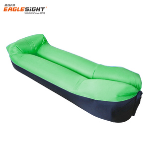 2018 Camping Waterproof Lazy Sofa Sleeping Bag Air Inflatable Lounger With Pillow