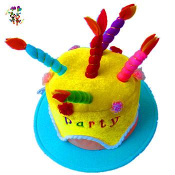 Marvelous Children Party Funny Happy Birthday Cake Hats Hpc 1465 Buy Personalised Birthday Cards Veneteletsinfo