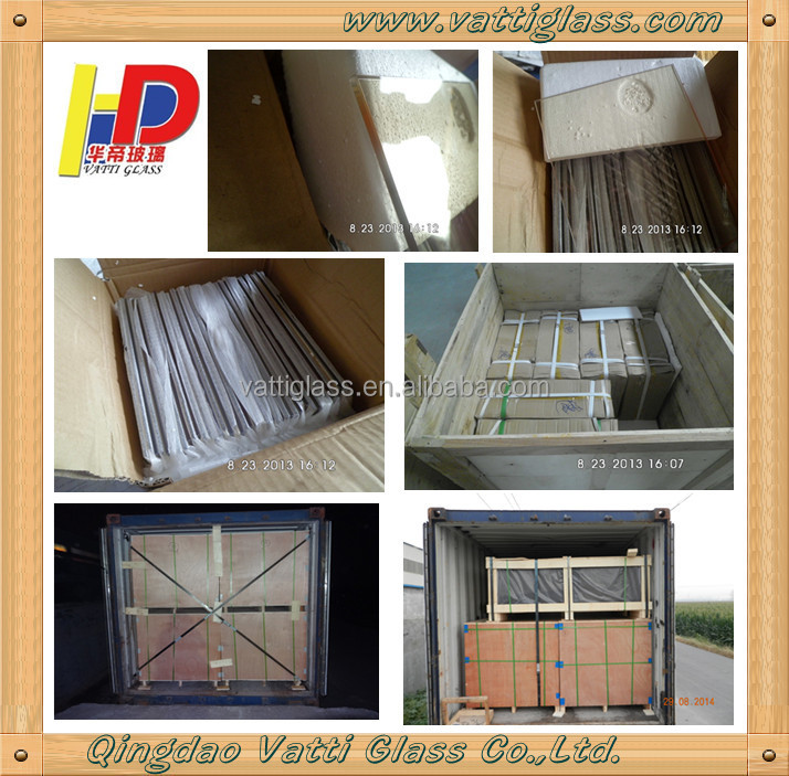 4mm Clear Ceramic Glass Crystallite Glass For Fireplace Burning Stove Windows In Russia Winter