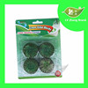 4Pcs Green Solid Toilet Bowl Cleaner Blocks