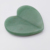 Fashionable Design Heart Shaped Green Aventurine Guasha for Face