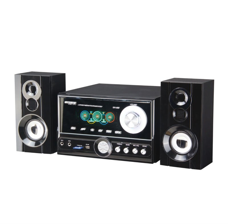 2.1 Home Theater New Model With Usb/sd And Vfd Display
