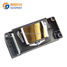 100% Original ! Gold surface unlocked F186000 print head for Epson DX5 eco solvent printhead