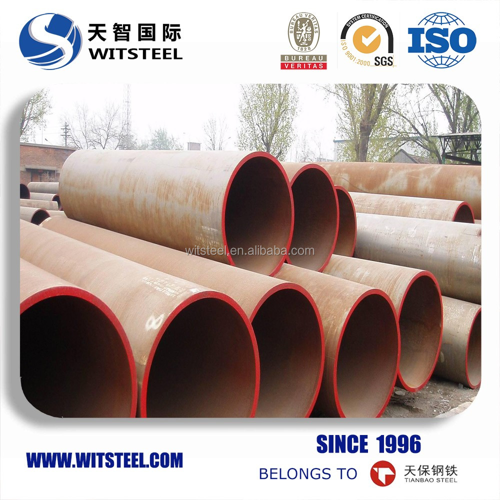 china supplier sch 40 ASTM A192 small diameter seamless pipe