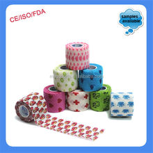 China factory Medical Product 10cm Equine Veterinary self adhesive bandage