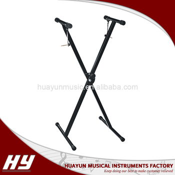 High Quality Metal Music Stand X Frame Keyboard Stand Instrument ...