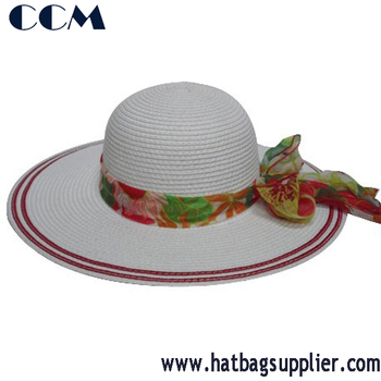 Wide Brim Summer Straw Hatgirls Sun Hats