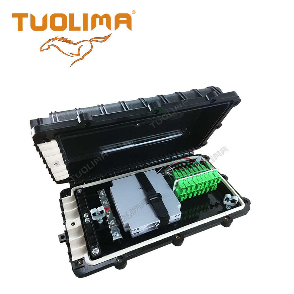 N [Tuolima]optical cable splice closure/joint box fiber optic junction box