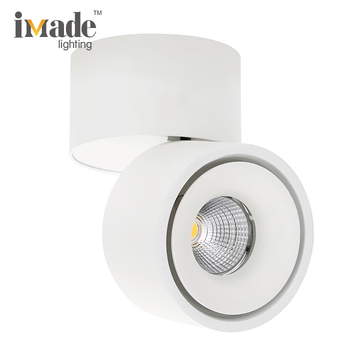 Adjustable surface mounted cordless ceiling light ceiling-mounted grid light fixture