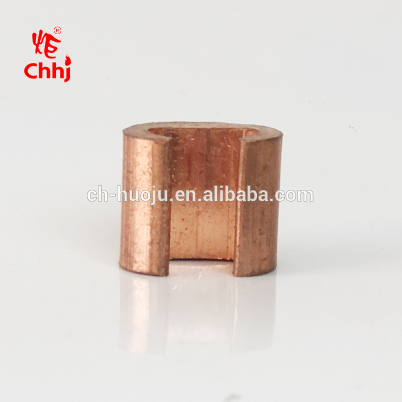 Electric Cable Accessory CCT Types Copper Pipe C shape Clamp