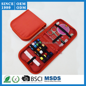 Needle Tape Storage Scissor Thimble Set Multifunction Threads Sewing Kits Portable Useful Travel Home Tools