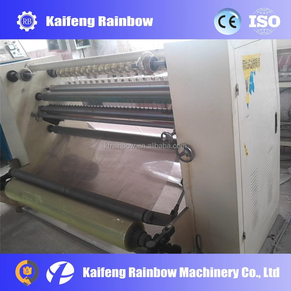 High Speed High Quality Adhesive Tape Slitting Machine