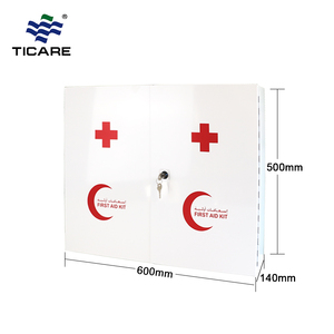 Multi medical wall mount metal first aid box