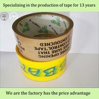 Offer bopp material 40u strong carton sealing bopp packaging tape
