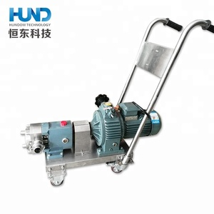 Food grade stainless steel syrup candy transfer pump