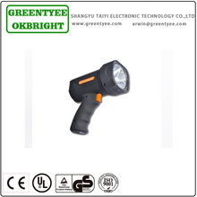 Wholesale handheld rechargeable halogen led spotlight