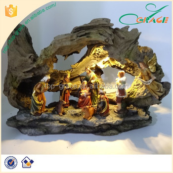 Best selling resin outdoor lighted nativity sets buy outdoor best selling resin outdoor lighted nativity sets aloadofball Image collections