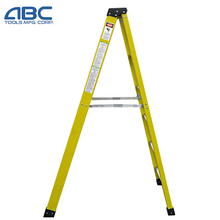 3 step attic high quality double side price at factory fiberglass ladder