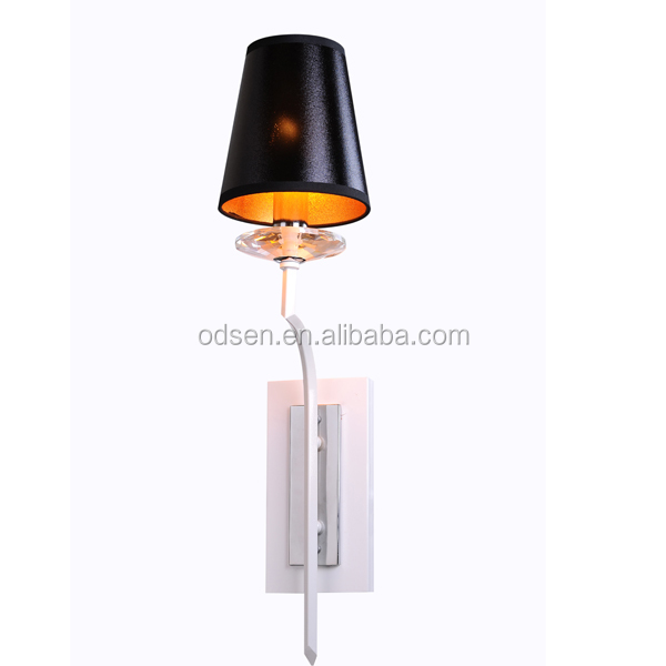 Decorative Round PVC Wall Lamp/Lighting for Hotel Wall Mounted Project Lamp