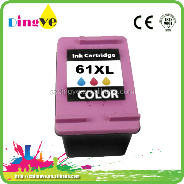 ink cartridge for hp CH563WN 61 compatible for hp 61 ink cartridges for DeskJet 1050,2050,2050s
