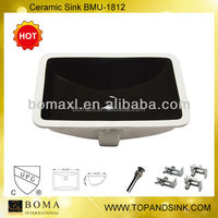 undermount basin ceramic basin vessel sink