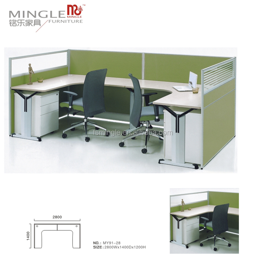 call center workstation office partition system for open office area MY91-28