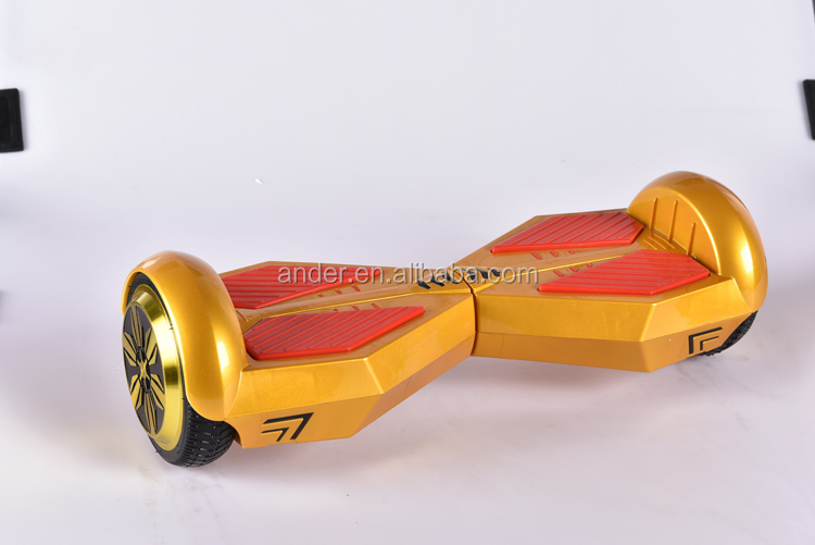 Ander leisure products CO,.ltd JJ-12 Hot selling 2 wheel balancing electric scooter electric scoote golden