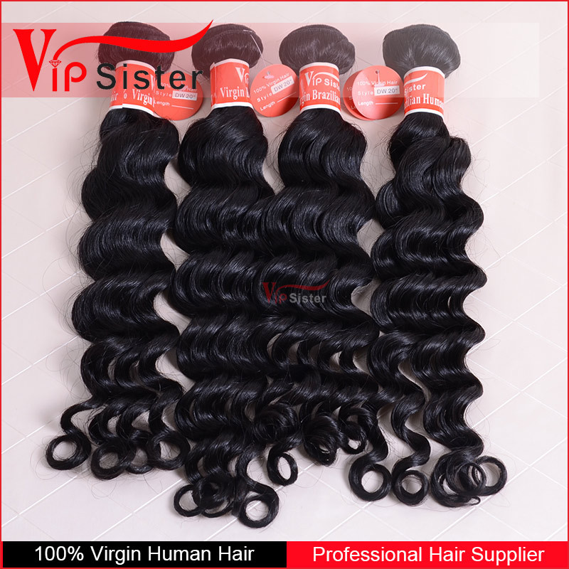 VIPSister wholesale hair companies buy human hair virgin brazilian ocean wave