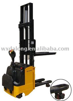 1500kg capacity Electric Stacker With Double Pallet