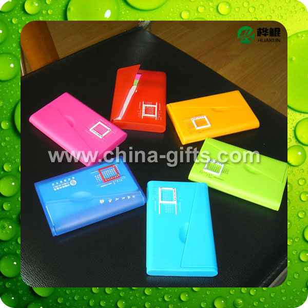 Office worker hot item name card case with pen