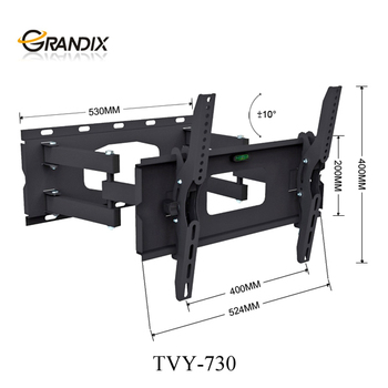 Long Arm 180 Degrees Swivel Tv Wall Mount Bracket