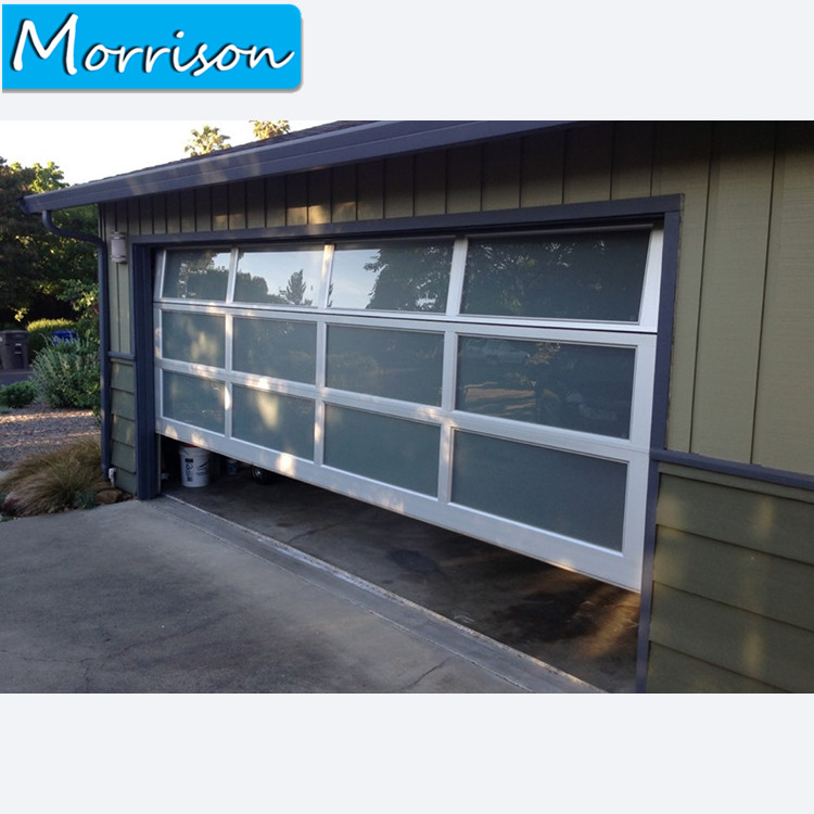 Latest Used Commercial Exterior Aluminum Glass Garage Door Kits Prices
