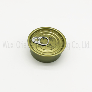 EOE 65MM Food Safe Tin Can Pull Ring Pop Top Cover Easy Pull Door Easy Open Lid