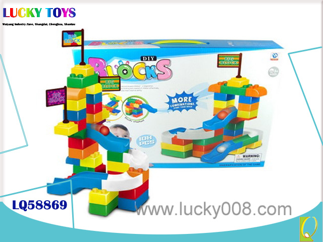 Educational plastic building blocks toys kids brain development toys mastermind game for kids gift play handicraft preschool toy