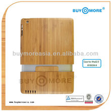 2014 new arrival products wood smart case cover for ipad 2&3