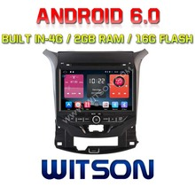 WITSON QUAD-Core Android 6.0 AUTO-<span class=keywords><strong>DVD</strong></span>-PLAYER GPS FÜR CHEVROLET CRUZE 2015 2G ROM 16 GB ROM IN 4G ADAS FUNKTIONSSTELLE ERSTELLT