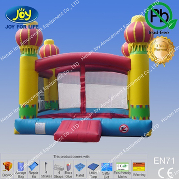 Foreign Kids Games Used Commercial Bounce Houses Inflatable Jumping Balloons