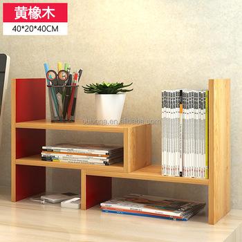 Diy Gecombineerd Boekenkast Boek Plank Rekken Desktop Organizer ...