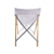Luxury bamboo canvas folded  garden camp picnic chair