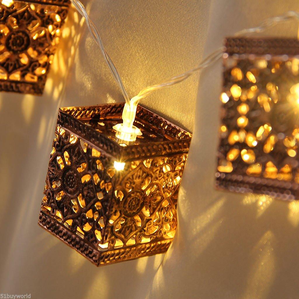 Retro Lantern 20 LED Fairy String Lights Christmas Party Decor ????? ????????? ~ITEM #GH8 3H-J3/G8335959