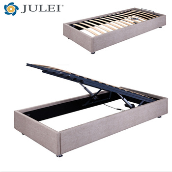 Hot Sell Modern Double Bed Motorized Automatic Lift Up For Storage ...
