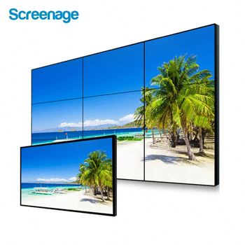 60 Inch Hd Super Smalle Bezel Hoge Helderheid Lcd Video Muur Surveillance Monitor