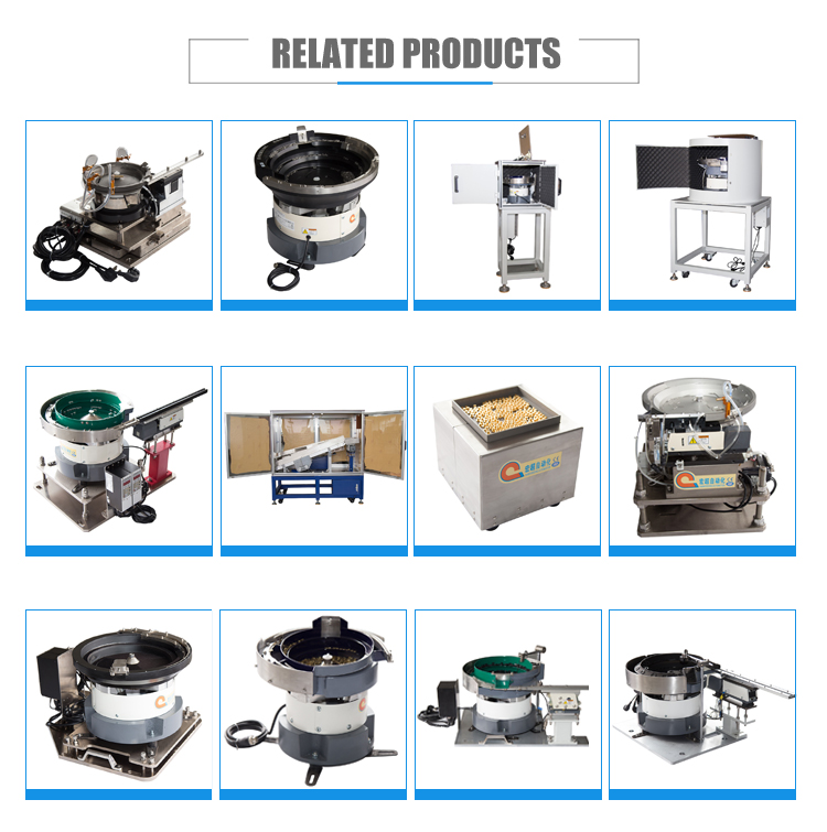 High performance custom stainless steel vibration bowl feeder with oil product